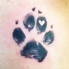 elephant tattoo with words paw print tattoo with a heart tattoo pawprinttatto tats