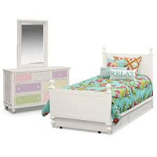 the colorworks collection white value city furniture