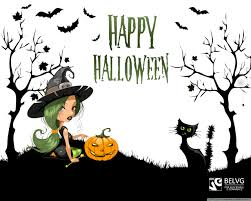 halloween cartoon wallpaper witch on halloween hd desktop wallpaper high definition