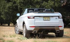 range rover evoque back 2017 land rover range rover evoque convertible exterior open roof