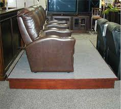 home theater riser kit 8 inches or 12 inches high