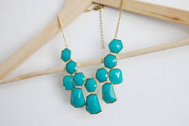 earrings statement necklace images Turquoise and gold statement necklace with matching gold earrings jpg