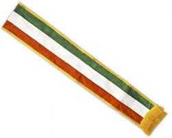 blank sashes italian parade sash