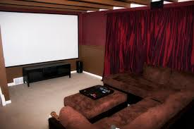 beautiful beige wood luxury design cool home theater interior