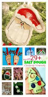 over 29 diy homemade salt dough ornaments for the kids to make