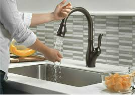 electronic kitchen faucets delta kitchen faucets reviews