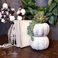 faux concrete dollar tree pumpkin do dodson designs