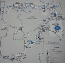 Roseburg Oregon Map Hwy 138 U2013 A U201cgold U201d Mine Whitehorse Falls Susan Creek Falls And