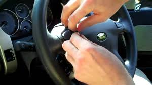 how to upgrade land rover freelander steering wheel with aud youtube
