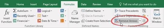 Repair Excel Spreadsheet Trace Precedents In Excel Find Formulas Functions And Cells
