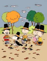 peanuts thanksgiving and snoopy and