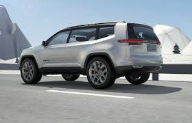 jeep concept 2017 jeep yuntu concept potentially previews new 3 row seat suv