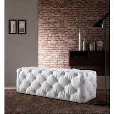 Leather Ottomans In Stock In Modern Miami Furniture Store - Modern miami furniture