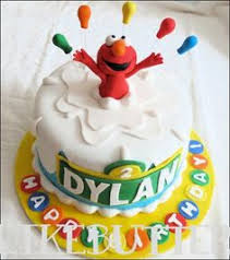 elmo cake topper fondant elmo with number cake topper by kimseeeun on etsy 41 00