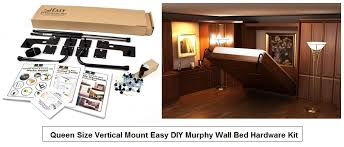 Queen Size Murphy Bed Kit How To Build A Murphy Bed