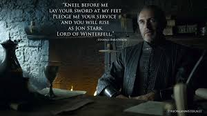 Stannis Baratheon Memes - game of thrones season 5 the house of black and white quotes