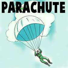 how to make a toy soldiers parachute with a paper napkin crafts