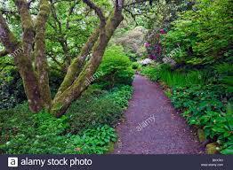 Elk Rock Garden Path In Portland S Elk Rock Garden At The Bishop S