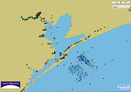 Map Gulf Of Mexico by Oil Spill Causes Shipping Backup In Gulf Of Mexico U2013 Skytruth