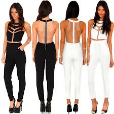 womens black pants jumpsuit style and fashion