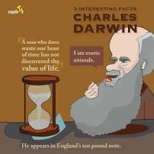 charles darwin 3 interesting facts for darwin