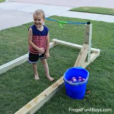 Challenge Water Balloon Build A Water Balloon Launcher That The Whole Family Will