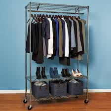 Wardrobe With Shelves by Rolling Wardrobe Storables