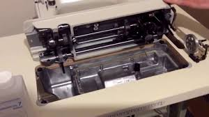 how to assemble a juki ddl 8100e industrial sewing machine onto