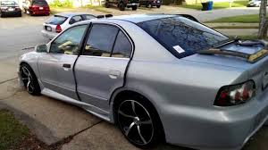 mitsubishi galant body kit 99 mitsubishi galant project video 4 youtube
