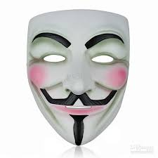 party mask 20pcs ems v mask vendetta party mask for party high