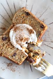 carrot cake loaf with vanilla bean maple ricotta