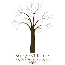 baby shower fingerprint tree 27 images of baby shower family tree template crazybiker net