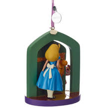 alice in wonderland christmas decoration