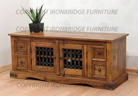 ebay tv cabinets oak solid wood sheesham low tv stand cabinet unit 4 drawers and a double