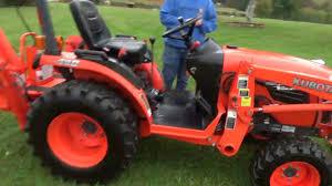 2011 kubota b2920 compact tractor loader backhoe tlb 4x4 sale for