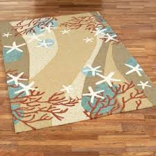 Outdoor Rug Runner Furniture Idea Amusing Starfish Outdoor Rug And Underwater Coral