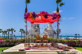 huntington wedding venues indian wedding venue mandap outdoor in huntington ca indian