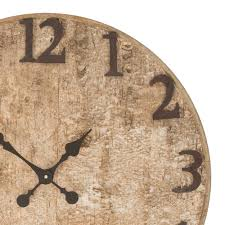 buy seymour birch bark wooden wall clock online purely wall clocks