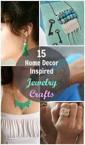 15 home décor inspired jewelry crafts a pretty fix