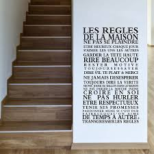 home decor free shipping version house rules quote wall stickers home decor vinyl art