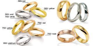 Wedding Ring Metals by Gold White Gold Wedding Rings Yellow Gold Wedding Bands 14k Gold