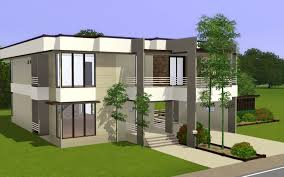 sims 3 modern house floor plans cool story modern house plans images ideas design small houses