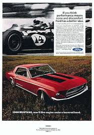 ford mustang ad directory index mustang 1968