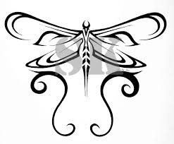 tribal dragonfly for artshow by shadowkira on deviantart
