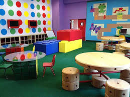 play room design with rubric cube tables etch a sketch monitors