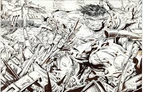todd mcfarlane incredible hulk drawing dangerous universe