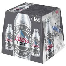 Coors Light 24 Pack Coors Light Beer 9pk 16oz Aluminum Pints Target
