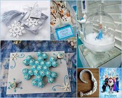 Disney Frozen Themed Birthday Party Ideas