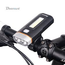 Light Bicycle Aliexpress Com Buy Deemount New Dual Two Lights Bicycle