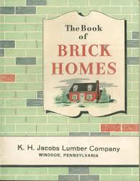 the book of brick homes designs and floor plans for 37